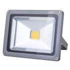 TGD-003 Outdoor 20W 1800lm 3500K LED Warm White Light Flood Light - Silver (AC 100~240V)
