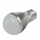XinYiTong E27 7W 600lm 6500K 15 x SMD 5630 LED White Light Bulb - Silver + White (85~265V)
