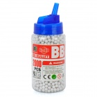 6mm BB White Plastic Bullets (2000-Pack)