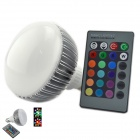 RLL-01 E27 10W 500lm RGB LED Light Lamp Bulb Spotlight w/ Remote Control (AC 85~265V)