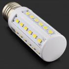 E27 7W 630lm 3000K 36 x SMD 5730 LED Warm White Corn Light - (AC 220~240V)