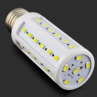 E27 9W 810lm 6000K 42 x SMD 5730 LED White Light Corn Light - (AC 220~240V)
