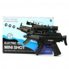 M96 Rechargeable 6mm Pistol BB Gun Toy with Laser Sight and Blue Light Flashlight