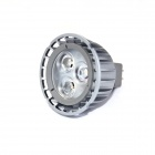 LI-CECI MR16 4W 330lm 3000K 3-LED Warm White Light Spotlight - Sapphire Blue (DC 12~24V)