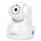 VESKYS VT36 0.3Mbps 802.1n IP Network Surveillance IP Camera w/ 10-LED Night Vision / TF - White