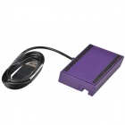 Portable Cell Phone USB Data / Charging Dock w/ Cable for Sony Xperia Z Ultra XL39h - Purple