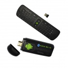 Ourspop U07 Quad-Core Android 4.2.2 Google TV Player w / 2 GB RAM, 8 GB ROM + RC11 Air Mouse (EU-Stecker)