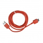 KS-U330 USB 3.0 Male to Micro B 9-Pin Male Data Sync / Charging Cable Samsung Galaxy Note 3 - Red