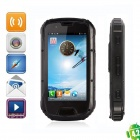 "Enjoy S09/W63 MTK6589W Quad-Core IP68 Waterproof Android 4.2 WCDMA Phone w/ 4.3"" IPS - Black"