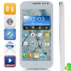"MTK6572 K606 Dual Core-Android 4.2.2 GSM Bar Telefon w / 4.5 "", Quad-Band, 4 GB ROM, GPS - Weiß"