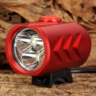 WindFire 3 x CREE XM-L T6 1200lm 5-Mode White Bicycle Light - Red (4 x 18650)
