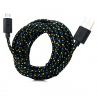 USB to Micro USB Charging Sync Data Cable for Samsung Galaxy Ace 3 / S7272 + More - Black (300cm)