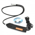100HD USB Powered 8.5mm 2.0 MP CMOS Vehicle Maintenance 6 LED Snake Endoscope - Black