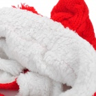 Fashion Warm Woolen Hat w/ 2-Balls for Kids - Red + White