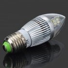 Youoklight E27 5W 380lm 6500K 28-SMD 2835 LED ampoule blanche - argent + blanc (100 ~ 240V)