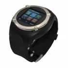 "NQ998 GSM 1.5"" Resistive Touch Screen Watch Phone w/ Bluetooth / Camera / FM - Black"