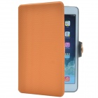 Ball Pattern PU Protective Case w/ Stand for Retina Ipad MINI - Orange