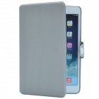 Ball Pattern PU Protective Case w/ Stand for Retina Ipad MINI - Grey