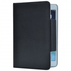 Patch-buttoned PU Protective Case w/ Stand for Retina Ipad MINI - Black