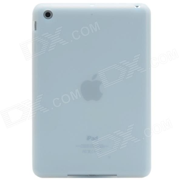 Silicone Protective Case / Back Protector for Retina Ipad MINI Tablet PC - Transparent White
