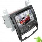 "LsqSTAR 7 ""Android 4.0 DVD-плеер автомобиля ж / GPS, ТВ, RDS, Bluetooth, PIP, МЖК, CAN BUS, 3D-интерфейс, Wi-Fi для Korando"