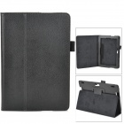 "Stylish Flip-open PU Leather Case w/ Holder for Amazon Kindle Fire HDX 8.9"" - Black"