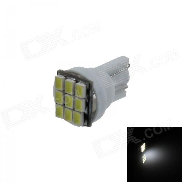 T10 / 184 / 555 / W5W 0.5W 80lm 9 x SMD 3020 LED White Car Instrument Lamp / Side Light - (12V) - DXLED Wedget Bulbs<br>High brightness energy-saving easy to install; Lifetime: more than 50000 hours; Replaceable model: T10 T-10 147 152 158 159 161 168 184 192 193 194 #194 259 280 285 447 464 555 558 585 655 656 657 1250 1251 1252 2450 2652 2921 2825 12256 12961 2521 2525 W5W.<br>