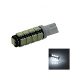 T10 / 194 / 2652 / W5W 2W 180lm 17 x SMD 5050 LED White Car Clearance lamp / Side Light - (12V)