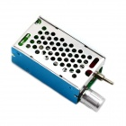 Jtron PWM DC Motor Reversing Switch / Pulse Motor Speed Control Switch - Blue+Silver (12~40V)