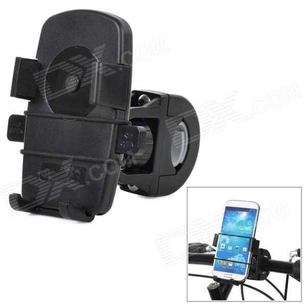 Outdoor Sports Cycling Bike Holder for Iphone / Samsung / HTC - Black