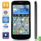"K606 MTK6572 Dual-core Android 4.2.2 GSM Bar Phone w/ 4.5"", Quad-Band, 4GB ROM, GPS - Black"