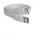 USB 3.0 Male to Micro USB 9-Pin Data Sync / Charging Cable for Samsung Galaxy Note 3 N9000 - White
