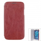 SAYOO 2347 Protective PU Leather Back Case Cover for Samsung Galaxy S4 i9500 - Brown