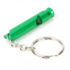 Creeper Handy Outdoor liga de alumínio Survival Whistle - Jade