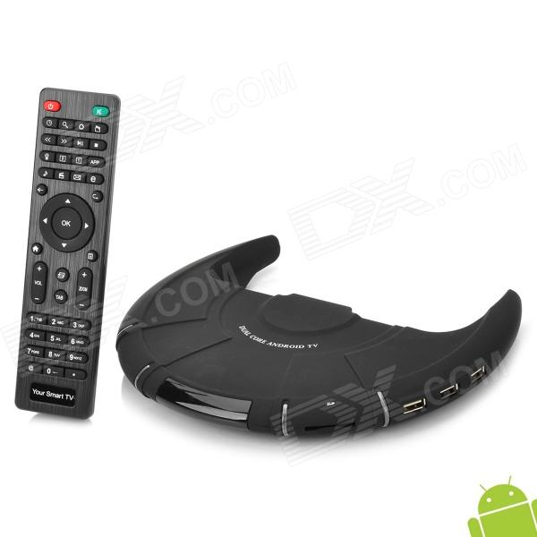 VS-ATV-106 UFO Style Dual-Core Android 4.2 TV Box w/ 1GB RAM / 8GB ROM / RJ45 / Wi-Fi / SD - Black rs232 to rs485 active converter 232 to 485 converter with power db9 to rs485 converter rs485 adapter