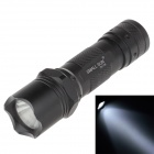 Small Sun ZY-116 10W 180lm 6000K White Light Flashlight - Black (3 x AAA)