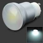 SENCART GU10 5W 320lm 6000K 1-LED COB White Light Bulb - White (AC 85~265V)
