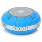 EWA E305 Portable 5W Wireless Bluetooth V2.0 Stereo Speaker w/ Mic / TF - Blue + Silver Grey