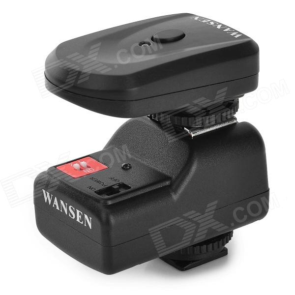 Wansen PT-04GY Universal 433MHz Wireless 4-CH Flash Trigger Set for Canon / Nikon + More - Black