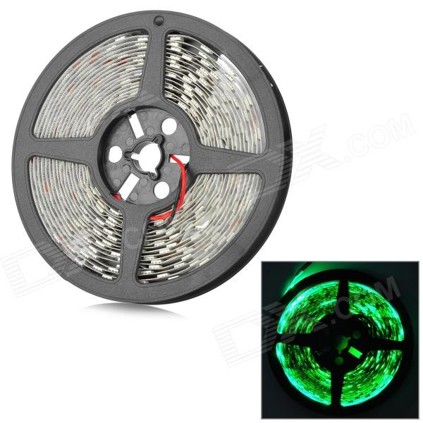 JRLED JR-LED-5050 SMD -G 60W 1200lm 300 SMD 5050 LED Green Light Strip - White + Black (5 M / 12V)