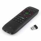 iTaSee F10N 3-in-1 2.4GHz Wireless Air Mouse + Keyboard + Remote Control - Black