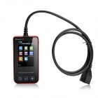 Launch Creader VII Diagnostic Full System Code Reader - Black + Red