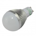 XinYiTong GU10 7W 600lm 3000K 15 x SMD 5630 LED Warm White Light Bulb - Silver + White (85~265V)