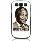 Nelson Rolihlahla Mandela Memorial Edition Protective Back Case for Samsung GALAXY S3 i9300