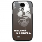 Mandela Protective Case / Super PC & Aluminum Alloy Back Case for Samsung Galaxy S4 - Grey + White