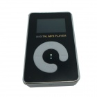 "KD-MP3-11-DAIPING-HEISE 1.1"" LCD MP3 Player w/ TF / Mini USB / 3.5mm Jack - Black + White"