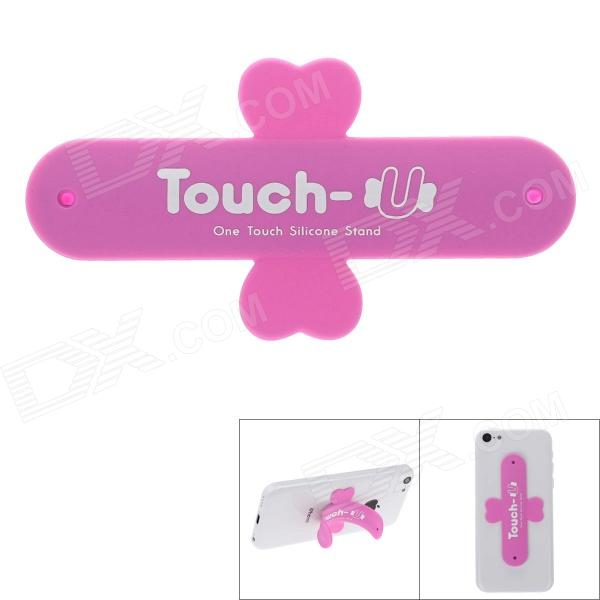 Touch-U Plasters Style Universal Mobile Phone Stand - Pink
