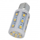 E27 5W 450lm 3000K 24-SMD 5050 Warm White LED Corn Light (AC 220-240V)