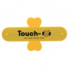 Touch-U Plasters Style Universal Mobile Phone Stand - Black + Yellow