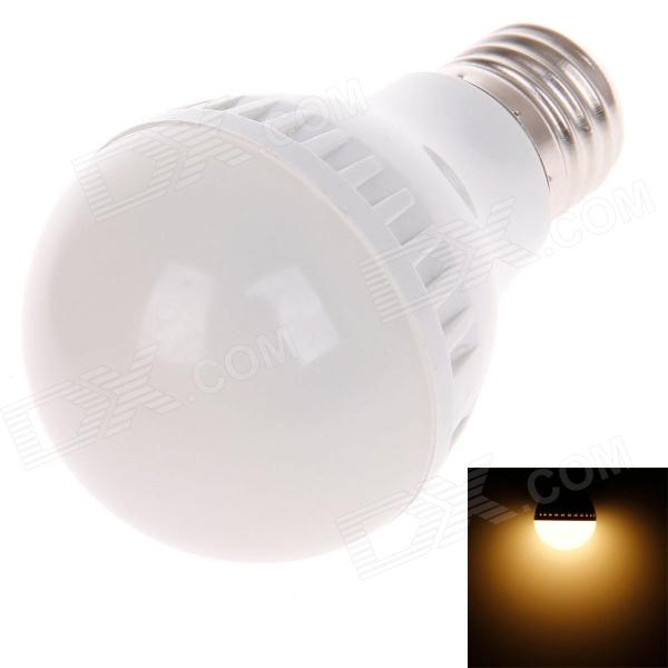 ZMW-1011 E27 5W 352lm 4000K 16-SMD 2835 Warm White Light Bulb - White (220V)